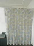 厂家直销新型环保无纺布医用隔帘,抗菌印花医院病房隔帘