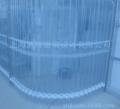 供应防静电移动折叠式透明软门帘、折叠门、折叠软门帘工厂车间