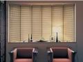 特价日本立川凸窗型百叶窗帘,飘窗百叶窗帘 二连式三