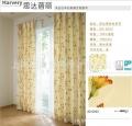 厂家直销日本SINCOL进口 卧室书房 半遮光格子印花 12014 窗帘