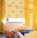 上海名成卷帘 儿童房窗帘全遮光111T-B3系列 环保窗帘