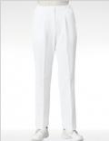 进口高级女医生护士裤 白色 抗菌面料 松紧腰193-20