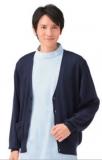 进口 医护工作护 针织衫开衫男款 两色 不起球不褪色203