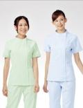 进口护士服套装/分体式护士服夏装 女 短袖上衣