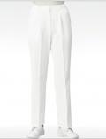 进口高级女医生护士裤 抗菌面料 松紧腰 白色193-60