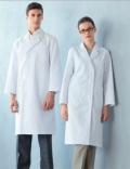进口医护服饰/白大褂 长袖S型男款医生服 防污防缩两色 110-71