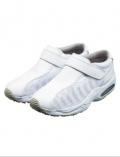 进口医护运运鞋 男女医生鞋 护士鞋 魔术贴白色MX136