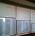 特价新款名扬窗饰 卷帘工程面料系列/手动大力士拉珠式 A1100