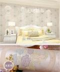 济缘欧式立体剪花无缝墙布 病房墙布  卧室客厅 墙壁 壁纸JX80-01