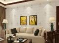 济缘新款欧式绣花无缝墙布 刺绣环保墙布 防水壁布 客厅 墙布SH01