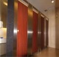 不锈钢蜂窝芯卫生间隔断 金属蜂窝芯卫生间隔断 不锈钢卫生间隔断