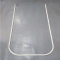 【厂家直销】铝合金隔帘轨道/医院隔帘滑轨/输液天轨 窗帘导轨