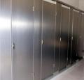 厂家金属不锈钢拉丝卫生间隔断,金属不锈钢铝蜂窝芯卫生间隔断