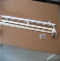 厂家直销济缘窗帘提供 窗帘配件,罗马帘轨道,铝合金罗马帘轨道