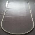 供应隔帘L型轨道、铝合金I型方型滑轨、U型输液轨道济缘窗帘轨道