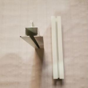 济缘吊顶嵌入式隔帘轨道、嵌入式窗帘轨道医用输液轨道 隔帘轨道