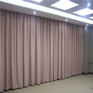 厂家直销 绿色环保遮光医用窗帘布、压花窗帘 学校布艺窗帘阻燃