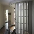 厂家直供室内隔断PVC折叠门 阳台厨房开放式推拉PVC移门  折叠门
