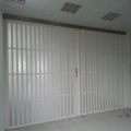 PVC折叠门透明商场商铺 推拉门阳台 医院隐形门开放式移动门